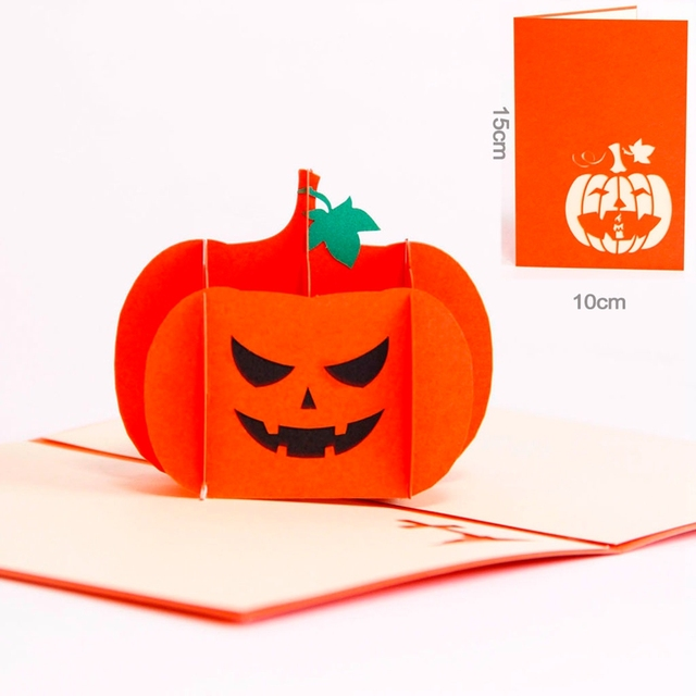 The vintage halloween day all saints day 3d pop up gift cards the vintage halloween day all saints day 3d pop up gift cards origami kirigami greeting m4hsunfo Gallery