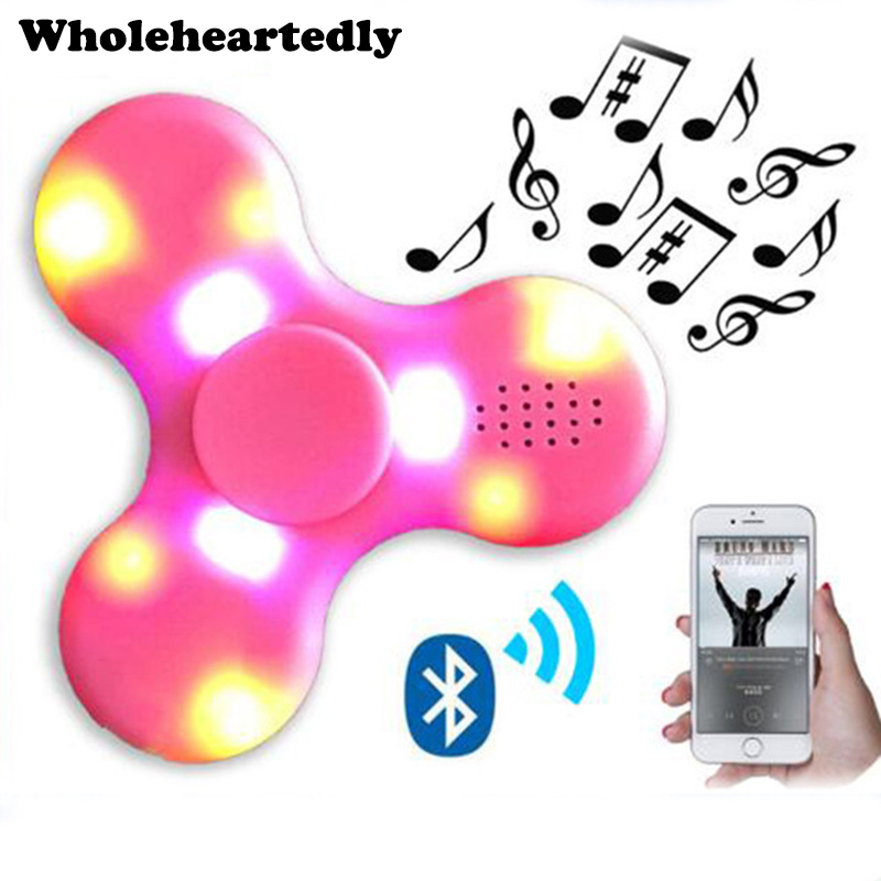 52d8eab6a502a US $5.71 21% OFF|Wireless Bluetooth Speaker Triangle Gyro LED Light  Flashing Fidget bluetooth speaker Tri Spinner speaker Spinner audio  gadgets-in ...