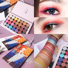 Brand 28PCS/SET Magnet Palette Eyeshadow Pallete Shimmer Matte Glitter Makeup Smoky Pigment Cosmetic