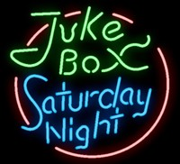 Custom Juke Box Saturday Nigh Glass Neon Light Sign Beer Bar