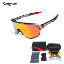 Kongsam Polarized Cycling Sun Glasses Outdoor MTB Sports Bicycle Glasses Gafas c