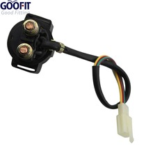 GOOFIT Solenoid Starter Relay for Chinese Made 50cc Qmb139 Atv Dirt Bike Go-kart Pocket Scooter H056-003-1