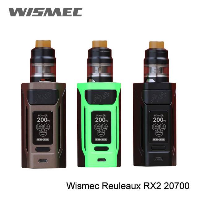 US $34 99 |100% Original Wismec Reuleaux RX2 Mod 200W RX2 20700 Box MOD  only Electronic Cigarette Vape 1 3 inch display vape mod Rx2/30-in  Electronic
