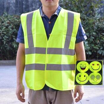 d215d8b3489 SPARDWEAR EN471 Chaleco de alta visibilidad chaleco reflectante de seguridad  ropa de trabajo envío gratis