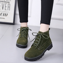цена Warm Winter Boots Women Ankle Boots for Women Shoes 2019 Winter New Suede Chelsea Booties Womens Shoes Woman Zapatos De Mujer онлайн в 2017 году