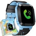 Relógio Do Telefone inteligente Crianças Kid Relógio De Pulso GSM GPRS GPS Rastreador Localizador Anti-Lost Toque Smartwatch Criança Guarda para iOS Android