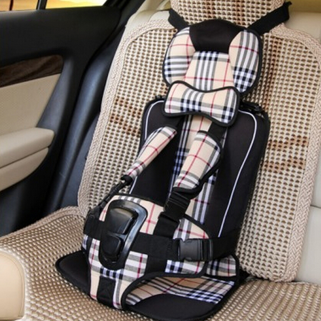 Portable Child Baby Toddler Adjustable Car Seat Covers Belt Travel Booster Safety