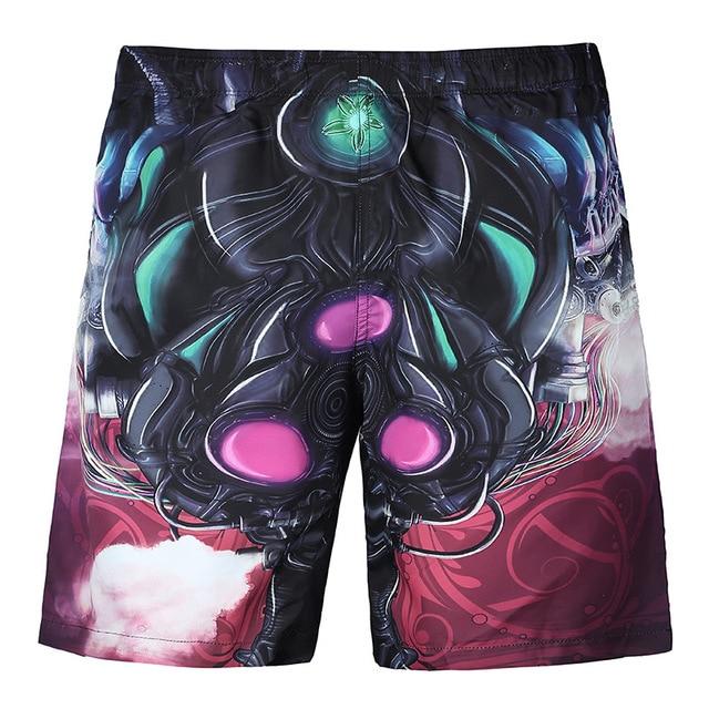 Мужская 3D Напечатаны Короткие Мода мужская Настольные Короткие Пляжные Шорты Высокое Качество мужские Шорты MB1
