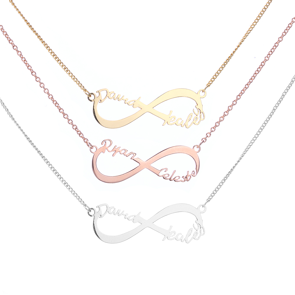 zm sterling kaystore kay necklace en diamond silver mother daughter symbol accents infinity mv