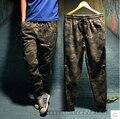 Calidad superior de Los Hombres camo basculador pantalones moda camuflaje militar pantalones casuales tobillo congregado pant