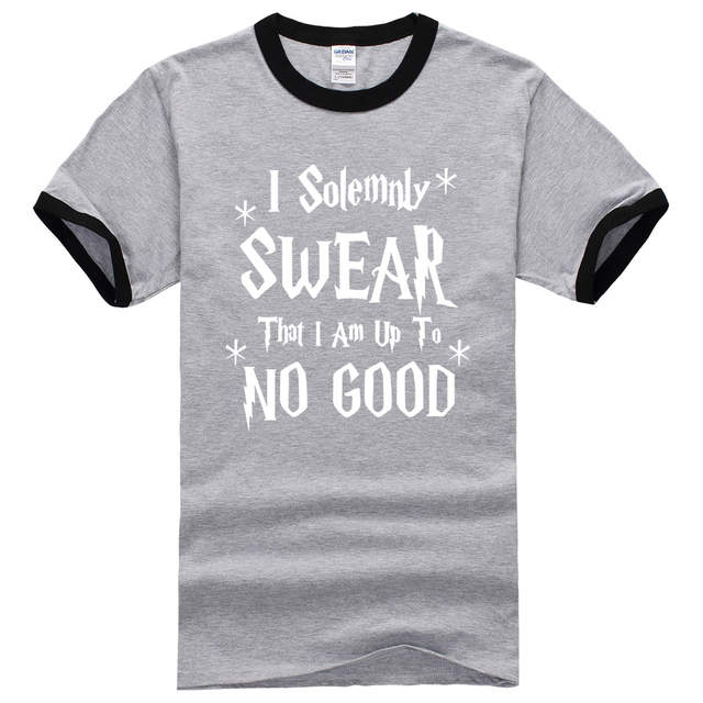 05c056717 Online Shop I Solemnly Swear That I Am Up To No Good T-Shirt funny hip hop  shirt brand clothing male 2017 summer t shirts new fashion Men's |  Aliexpress ...