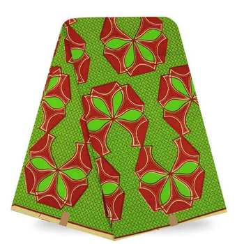 2017 Super Wax Hollandais African Hollandais Real Dutch Wax Guaranteed Dutch Wax Hollandais For Ankara Patchwork Sewing 6yards