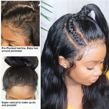 360 Lace Frontal Wig Body Wave Human Hair Wigs Pre Plucked Hairline With Baby Hair Brazilian Lace Wigs For Black Women