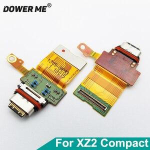 Image 1 - Dower mi złącze USB typu c ładowarka Port ładowania Flex kabel do Sony Xperia XZ2 kompaktowy XZ2C H8314 H8324 tak 05