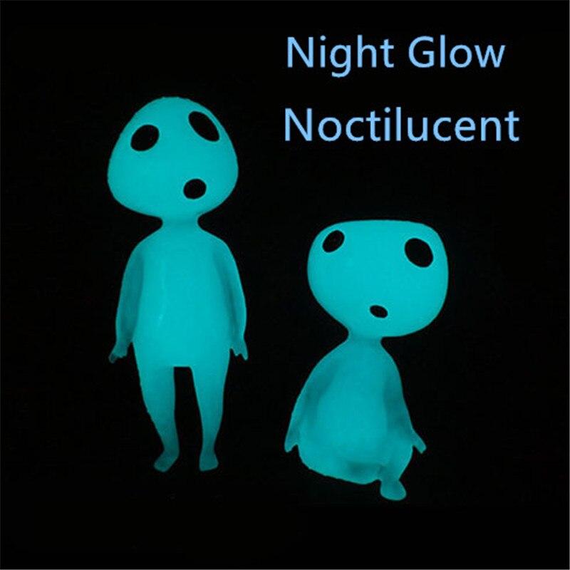Անվճար առաքում 2 հատ / լույս Ծառի փերի ուրվականներ Գիշերային փայլի գործիչներ