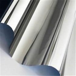 2019 COOL Hoge Rekbaar Spiegel Zilver Chrome Body Flexibele Vinyl Wrapping Sheet Roll Film Auto Sticker Decal Vel Decoratie
