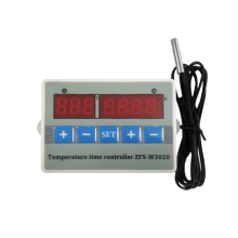 все цены на 12v/ 24v /220v  Digital Thermostat Temperature Controller Switch ZFX-W3020 Timing Temperature Control Switch онлайн