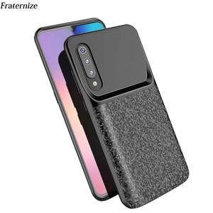 Image 1 - Batterij case Voor Xiao mi mi 9 ultra slanke Siliconen Schokbestendig Power bank Case Forxiao Mi Mi 9 global volledige batterij oplader case Cover