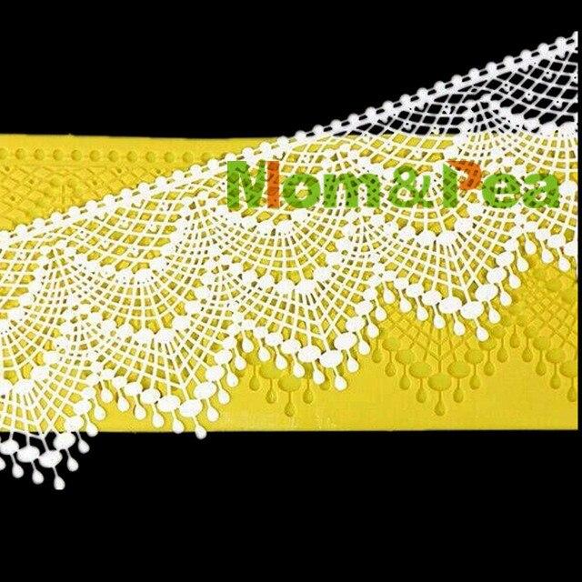 Кружевная подкладка Mom & Pea GX181, украшение для торта, 3D форма для мастики, пищевой силикон