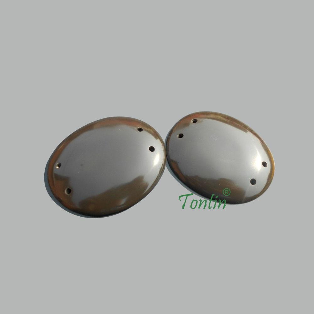 5A класс-коричневого цвета Si бен Бянь камень глаза Массажа Гуаша КИТ красоты лицевая панель 60x45 мм 100% оригинальный