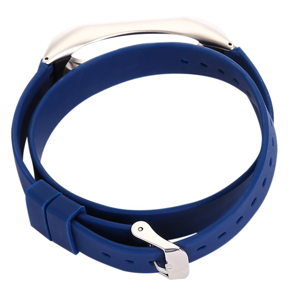 Watch Band Wrist band Wristband Women Men Bracelet 43cm Silicon Solid Color Wristband For Xiaomi Mi Band 2 Replacement Strap P5 adjustable wrist and forearm splint external fixed support wrist brace fixing orthosisfit for men and women