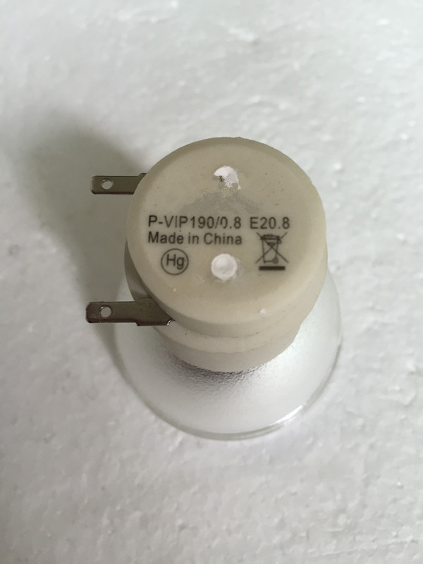NEW original bare Bulb  RLC-083 / P-VIP 190/0.8 E20.8 lamp for  VIEWSONIC PJD5232/PJD5234/PJD5453s Projector s180Days warranty viewsonic pjd5453s