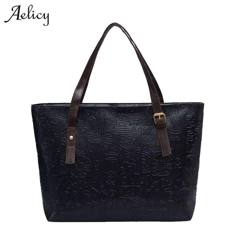 Aelicy Luxury Women Ladies Big Totes Handbags Designer