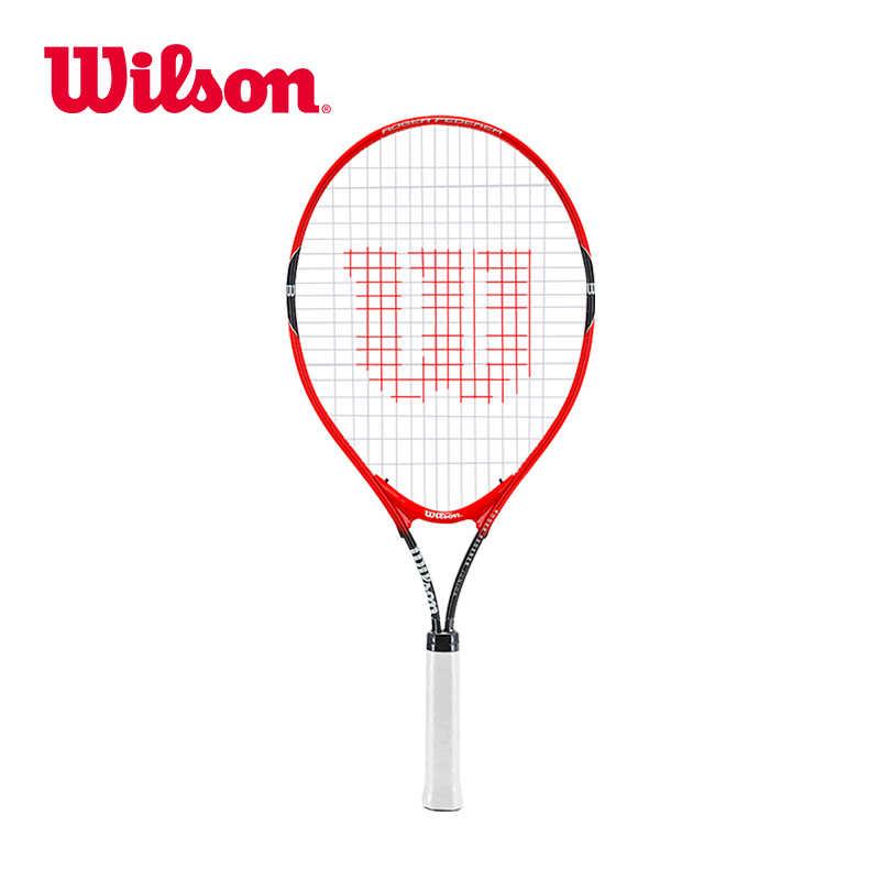 Original Wilson Children Tennis Racket Lightweight Large Face Primary School Beginning Learn Matching WRT291600 suit