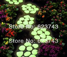 1Kg Free ship Yellow Green glow stones/photoluminescent stone,Glow in the dark pebble/luminous pebble stone for garden,aquarium цена