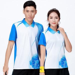New Sports Badminton wear shirt Women/Men's , sports Tennis shirt , Table Tennis shirt , Quick dry sportswear shirt 8809
