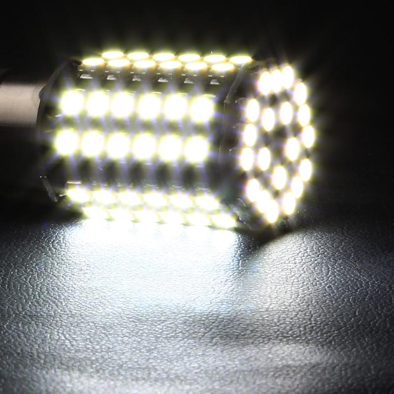 1156 BA15S Luzes de Sinalização de Cauda de Carro 80 SMD LED - Faróis do carro - Foto 6