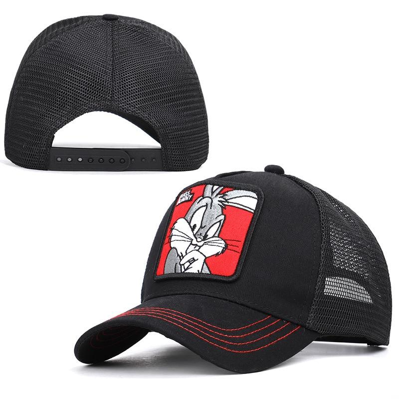 Animal Farm TRUCKER HAT Rabbit Baseball Cap Adjustable Mesh Snapback Casual
