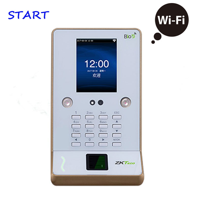 ZK UF600  Face Time Attendance Fingerprint Time Attendance Wifi Biometric Desk Face Time Recording Attendance System