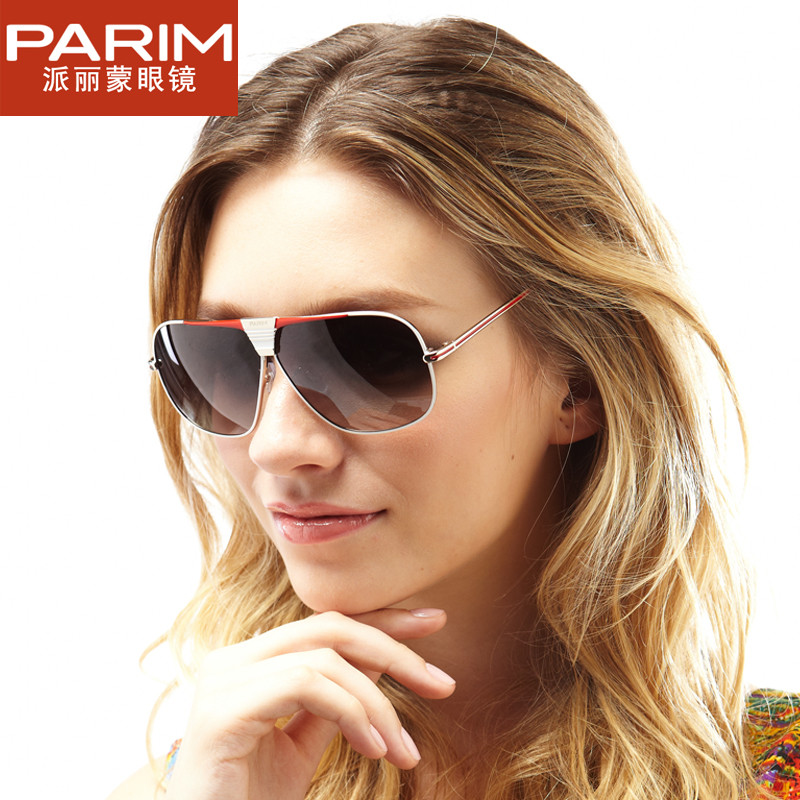 The left bank of glasses 2013 parim male female lovers design polarized sunglasses 9108