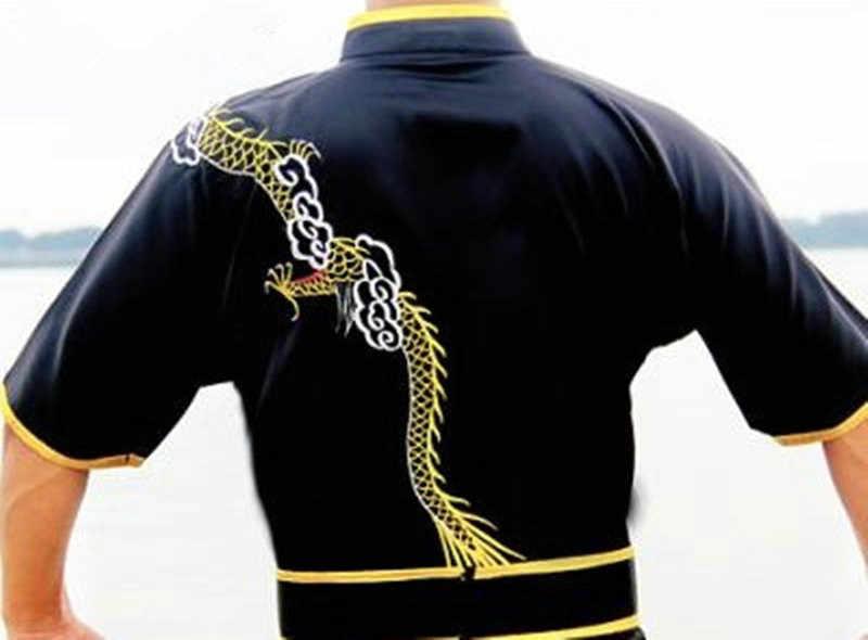 Taoyekma 武術服制服武術衣装カンフー制服服武道制服中国戦士コスチューム運動