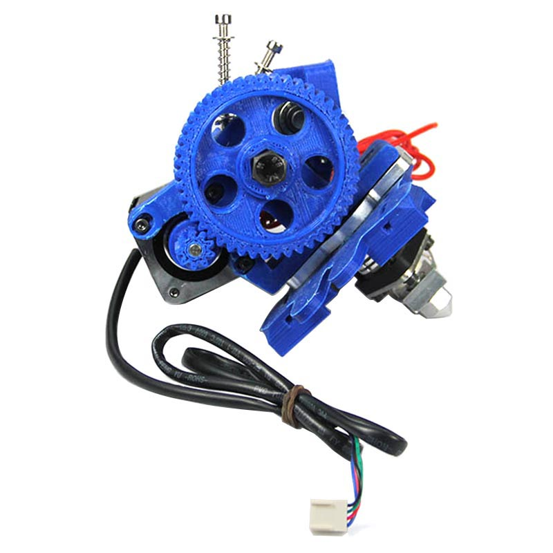 Assembled Geeetech GT1 Extruder 3mm/1.75mm filament and 0.5mm/0.4mm/0.35mm/0.3mm nozzle.