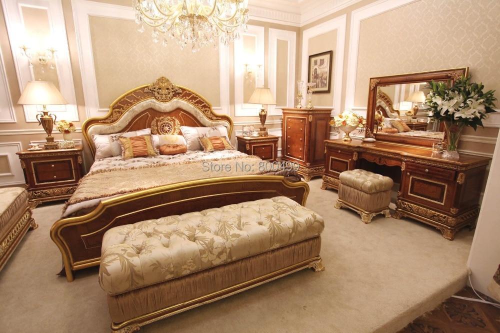 Bisini Luxury Solid Wood Design Bedroom Furniture Set In Bedroom Sets From Furniture On