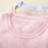 Spring And Autumn Winter NEW Round Neck Woman Color Point Pure Cashmere Sweater High Quality Fashion