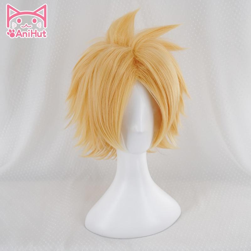 Купить парик denki kaminari boku для косплея аниме «моя геройская академия»