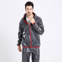 Portable Fashion Ultra Thin Unisex Raincoat Breathable For Women Men Raincoats Suit Outdoor Camping Fishing Rainsuits