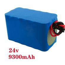 lithium ion battery 24V 9300mah cylindrical rechargeable cells for LED and power tool