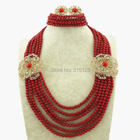 african beads jewelry best quality african big jewelry sets wedding party jewellery gold jewelry