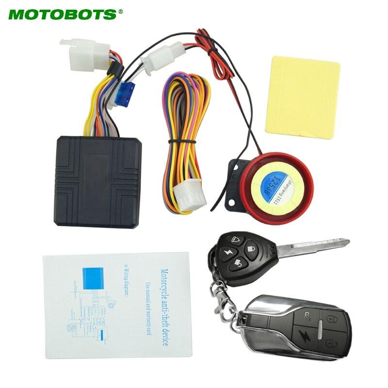 MOTOBOTS 12V 100m Universal Motorcycle Alarm Scooter Alarm Sirens #FD-2355