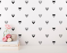 Black Geometric Vinyl Wall Stickers For Kids Room Merry Christmas Wall Sticker Home Decor Living Room Bedroom Baby Wall Decals