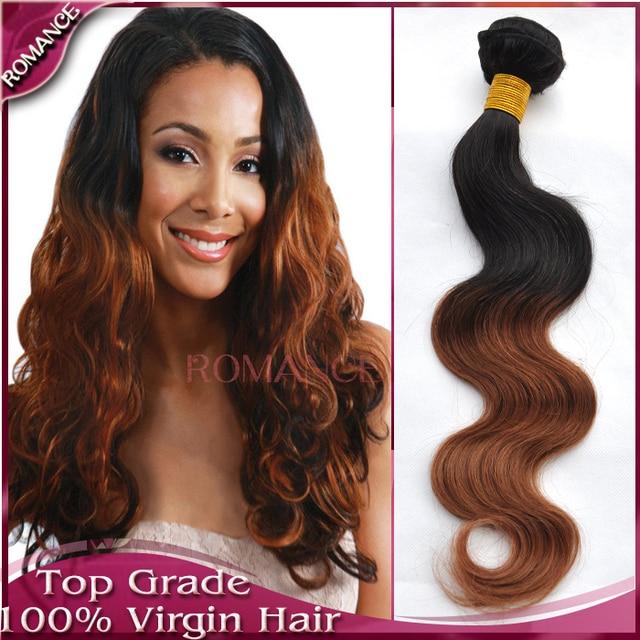 T1b30 best romance hair ombre virgin brazilian hair extensions t1b30 best romance hair ombre virgin brazilian hair extensions body wave unprocessed ombre remy pmusecretfo Gallery