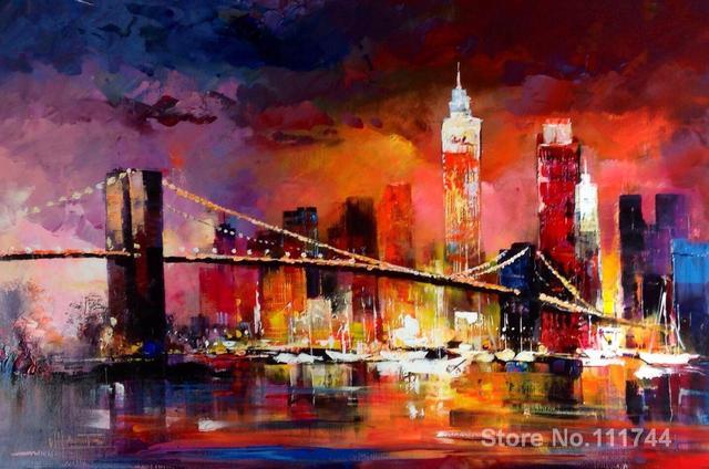 Aliexpress.com : Buy Beautiful art for bedroom Skyline II