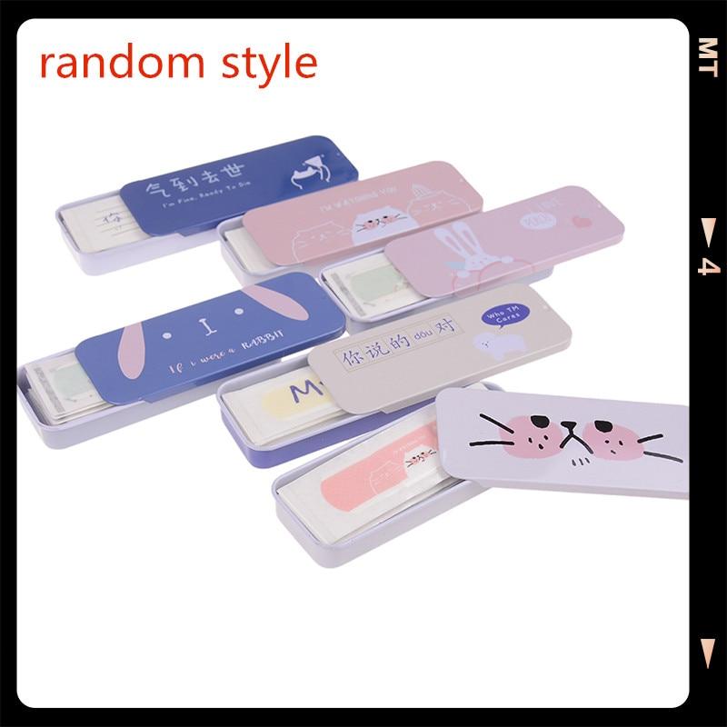 10pcs/box Cartoon Waterproof Bandage Aid Hemostasis Adhesive Bandages Kids Band Aid First Aid Supplies Random Pure And Mild Flavor