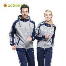 Actionclub 2016 Hommes de Sport Costume Printemps Automne Survêtement À Manches Longues Fitness En Plein Air Sportwear Couple Amant Costume SR286