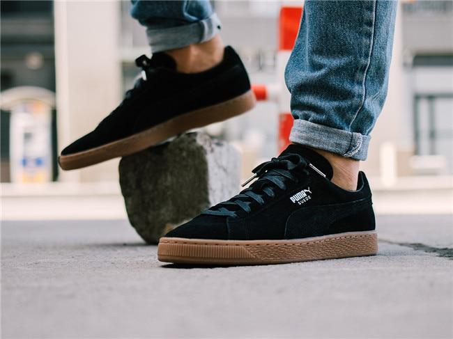 Genuine PUMA Mens Womens Suede Classic Citi Sneaker Classic SPORTSTYLE SUEDE Basket Badminton Shoes Size35.5-44