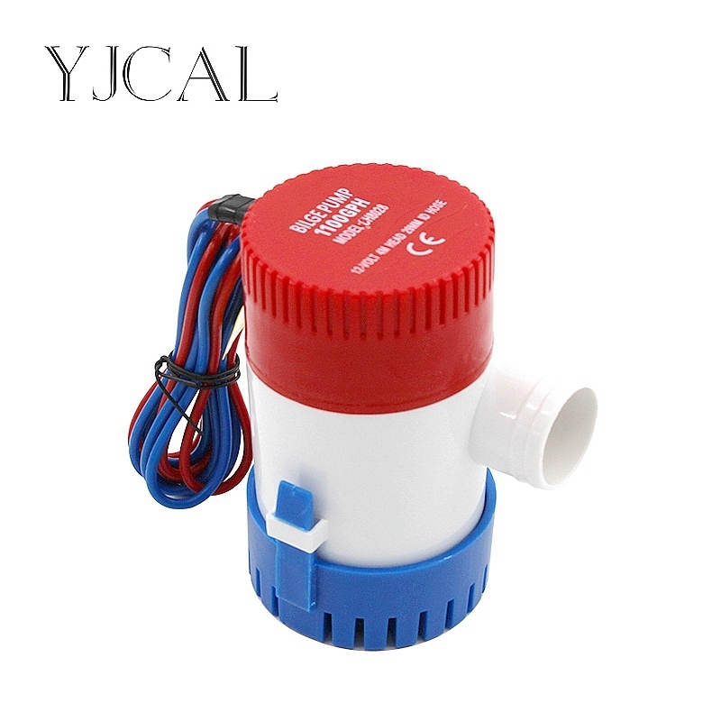 Submersible Electric Water Pump 350 500 750 1100GPH DC 12V 24V Bilge Pump For Seaplane Civil Ship Houseboat Boats